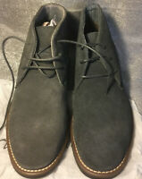 Bruno Marc Men's URBAN-01 Grey Suede Leather Lace Up Oxfords Chukka Boots Size 7