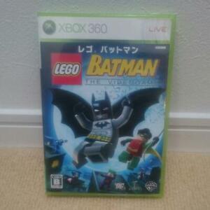 Xbox360 Lego Batman Microsoft 2008 Game Japan Import