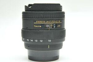 Tokina AT-X 107 Fisheye AF DX 10-17mm F/3.5-4.5 Lens for Nikon F Mount