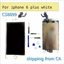 "White iPhone 6 Plus 5.5"" LCD Replacement Screen Digitizer with homebutton+camera"