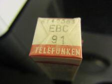 VALVULA-TUBE.RÖHRE-LAMPE EBC91=6AV6 NOS