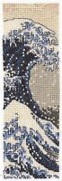 DMC Counted Cross Stitch Kit - The Great Wave Bookmark