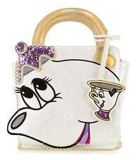 NEW! Disney Danielle Nicole Beauty & The Beast Mrs. Potts & Chip Crossbody Bag