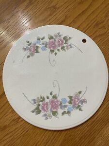"PFALTZGRAFF TEA ROSE Hot Plate Trivit 10"" Round"