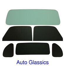 1937 Plymouth P3 Business Coupe Classic Auto Glass Kit NEW Flat Windows Vintage