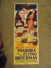 James Mason Pandora And The Flying Dutchman 1950 Original Insert Poster #L9600