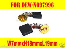 Carbon Brushes For Dewalt Chop Saw Metal Cutter D28710 N097996 N097997 A9,B1,IN