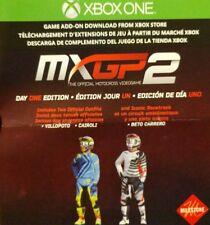 Xbox 1 MXGP 2 Day One DLC