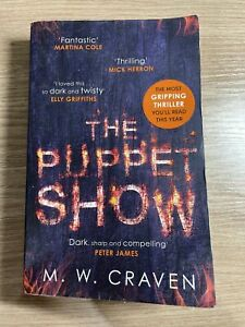 The Puppet Show (Washington Poe) by Craven, M. W. Free Post 🇦🇺 Seller