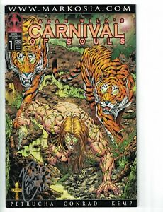 Jazan Wild's Carnival of Souls #1 VF/NM signed by Kevin Conrad - Markosia 2005