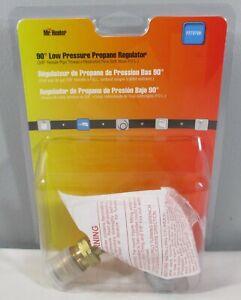 "New Mr. Heater 90° Low Pressure Propane Regulator F273759 3/8"" Thread Grill"