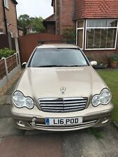 Non runner Mercedes C Class Estate with tow bar and roof bars