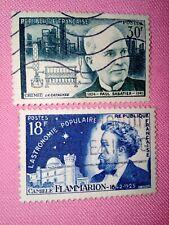 TIMBRE - POSTZEGELS - FRANKRIJK -  FRANCE 1956  NR. 1057/58 ( F 400)
