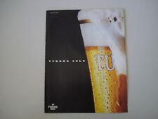 advertising Pubblicità 1992 BIRRA BEER TUBORG