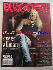 rivista BUSCADERO 330/2011 Gregg Allman Tom Petty Kid Rock Patterson Hood No cd