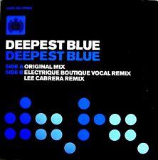 "12"" - Deepest Blue - Deepest Blue (HOUSE) NUEVO - NEW, STOCK STORE LISTEN"