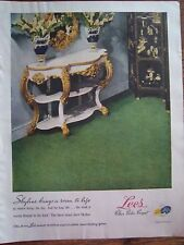 1947 Green Lee's Clear Color Carpet Ad