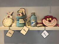 Disney Primark Alice In Wonderland Coin Purse Full Set BNWT cheshire cat mad hat