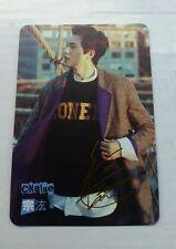 Cnblue jonghyun gold etched yes card photocard kpop k-pop u.s seller