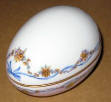 • Limoges Collectible Egg Box • From Collector's Estate •