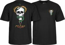 Powell Peralta Mike McGill Skull And Snake Skateboard T Shirt Black Xxl