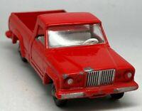 Vintage Matchbox Lesney No 71 Red Jeep Gladiator Pickup - Near Mint