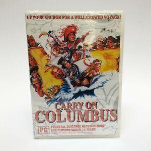 DVD SEALED Carry On Columbus Rik Mayall Julian Clary Jim Dale - 1992