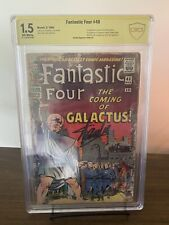 Fantastic Four 48 CBCS 1.5 CGC SS Stan Lee Signed First Silver Surfer Galactus