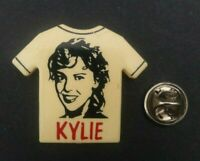 VTG 1980s KYLIE MINOGUE PIN BADGE #1