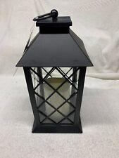 Decorative LED Lantern with Flameless Candle Trellis Window Design Wedding NEW