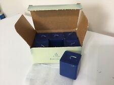 Rare! Partylite Square Votive Candles Ocean Mist Scent Blue 1 Box New