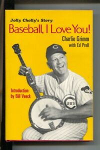Baseball, I Love You 1968-by Charlie Grimm & Ed Prell-Jolly Cholly's story-1s...