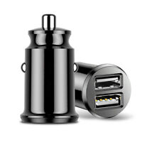 Mini Dual USB Smart Car Fast Charger Adapter 3.1A For Mobile Phone Tablet GPS