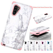 Dual Protective Phone Case for Samsung Galaxy Note 10 Plus Rugged Silicone Cover
