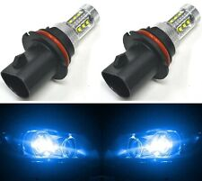 LED 80W 9007 HB5 Blue 10000K Two Bulbs Head Light Replace DRL Lamp Off Road