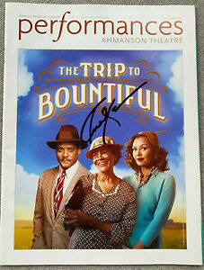 Cicely Tyson Signed In-Person The Trip To Bountiful Performance Magazine RARE