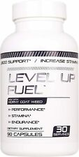 Level Up Fuel - Energy & Stamina Booster for Men & Women Increase Size 90 Caps