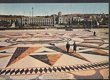 Portugal Postcard - The Wind Rose, Praca Do Imperio, Lisbon    DD842