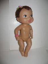 2011 Hasbro Baby Alive All Gone Bilingual English Spanish Strawberry Yogurt Doll