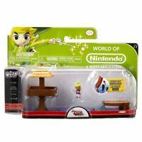 Legend of Zelda Micro Figure Playset: Tetra & Open Ocean Gift Idea NEW Nintendo