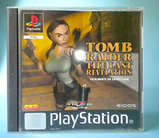 RAIDER DELLA TOMBA THE ULTIMA RIVELAZIONE PS1 PLAYSTATION PSX PS PAL