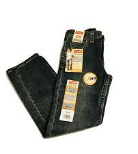 NWT Wrangler Boys 6 Slim Straight Jeans Sunkissed Denim 5SCLWS2