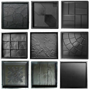 Betonformen Gießformen Schalungsformen Gartenweg Gehwegplatten Terrassenplatten