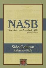 NASB Side-Column Reference Wide Margin Bible : 1995 Edition (Black, Leatherte...