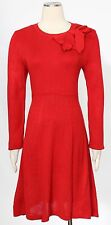Jessica Howard Red Sweater Dress Size L Casual Women's New*
