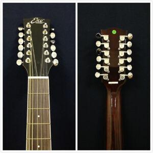 EKO Laredo FL Natural 12-String Acoustic Guitar,w/Fast Lok Technology-Blemished