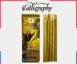 5 pcs Arabic Bamboo Calligraphy Reed Pen Qalam Kalam Pen Handmade Urdu Pens