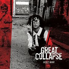 THE GREAT COLLAPSE - HOLY WAR (WHITE)  VINYL LP NEU