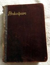 c1905 The Brooke House Shakespeare Plays Histories & Sonnets Charles Taylor Book