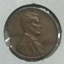 1960 Lincoln Cent - Error Clip Clipped Planchet
